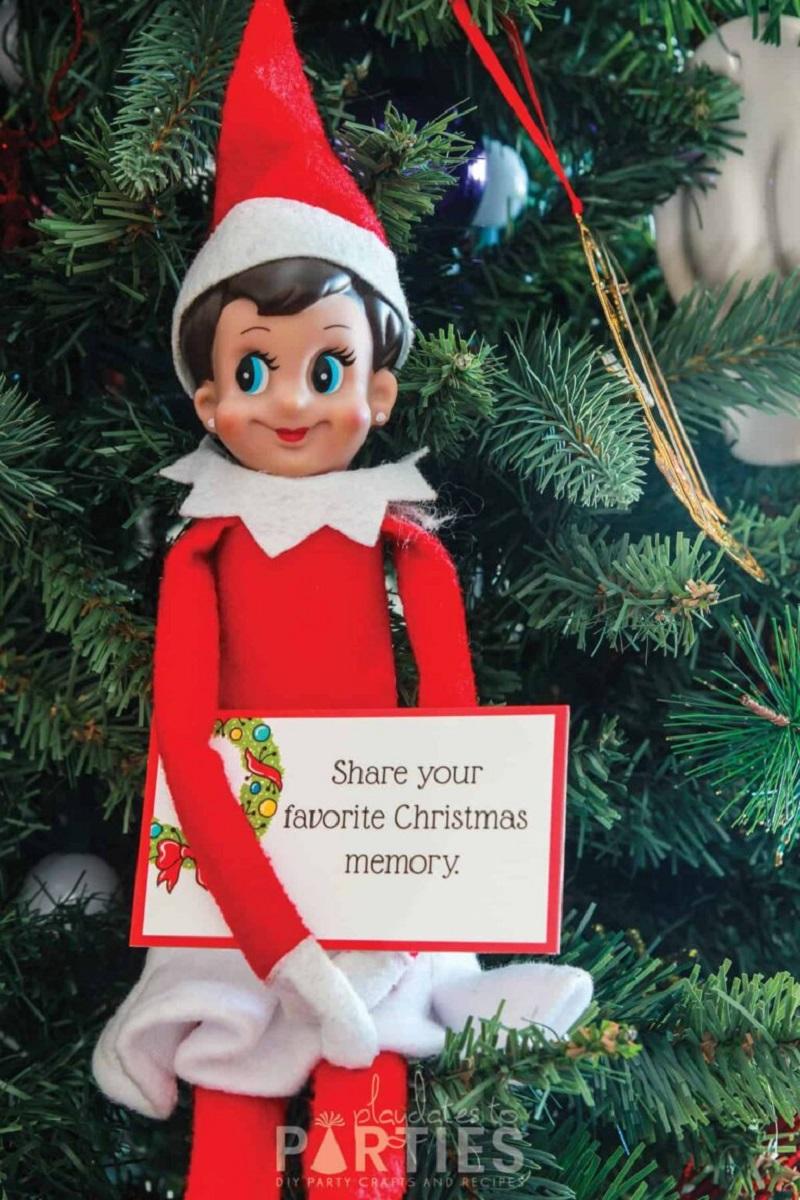 printable elf cards