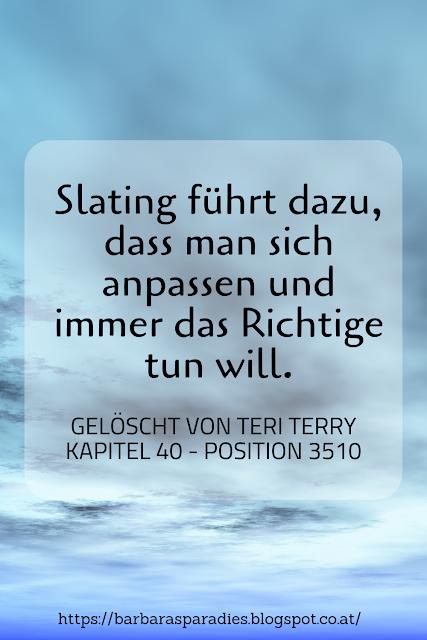 Buchrezension #284 Gelöscht von Teri Terry