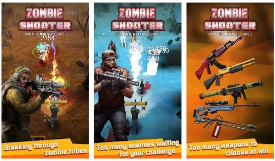 Walking Zombie Shooter Mod Apk