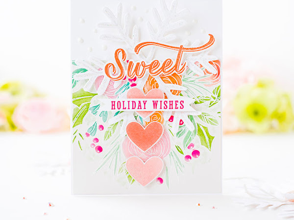 Sweet Holiday Wishes - The Stamp Market + Papertrey Ink
