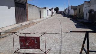 Prefeitura de Baraúna conclui mais uma pavimentação, novas ruas serão beneficiadas