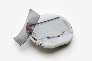 CASIO A158WA-1JF 液晶反転