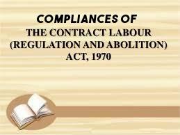 compliances-Contract-Labour-Regulation-Abolition-Act-1970