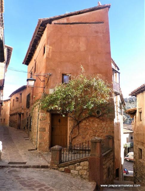 arquitectura medieval en Albarracín