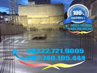 Jasa trowel lantai beton cor readymix floor hardener SIKA FOSROC