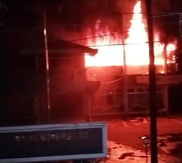 Kebakaran Kantor UPT Medan Dipastikan Tak Ganggu Pasokan Listrik