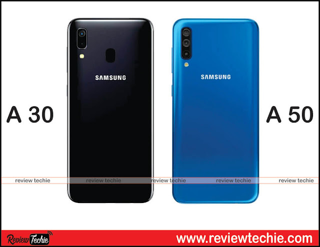 Samsung Galaxy A50 and Galaxy A30