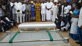 Ex-Super Eagle Coach/Player Stephen Keshi finally laid to rest