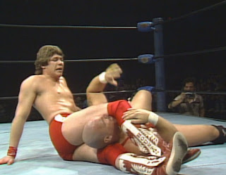NWA Starrcade 1985 - Sam Houston battled Krusher Kruschev