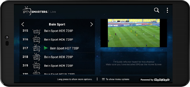 تحميل تطبيق IPTV Smarters Pro المدفوع لمشاهدة القنوات المشفرة على الاندرويد مع اكواد التفعيل مجانا