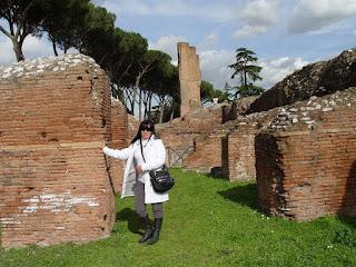 Palatino, ruínas da Domus Flavia