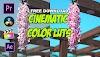 Best Cinematic Color Luts Free Download   Color Grading 2021