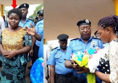 After 10-years of barrenness, 26-year-old lady, steals a 3-week-old baby