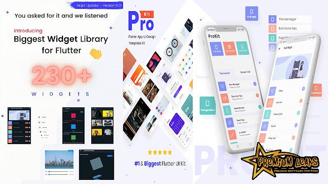 prokit - biggest flutter ui kit free download