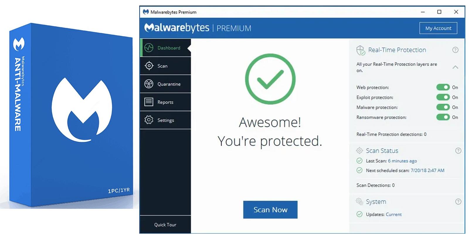 Cara Install Malwarebytes Premium Full Version