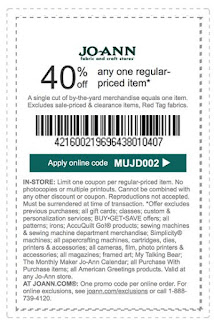 Jo-Ann Coupon Codes, Promos & Sales Our coupon hunters want to make sure you get the stuff you want without emptying your pockets. Click the button to check Joann's July deals page for codes & discounts, and don't forget to sign up for their email list to get deals directly to your inbox.5/5(7).