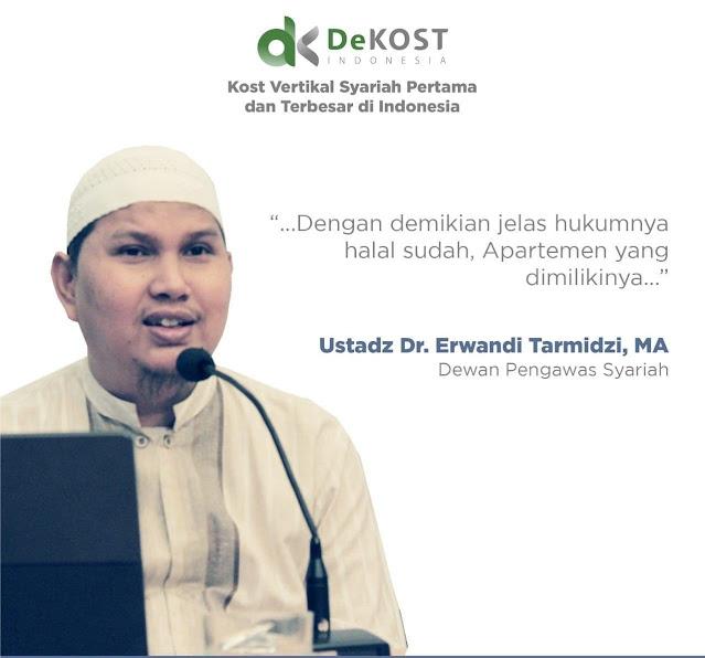 Dekost Indonesia Apartemen Kost Syariah