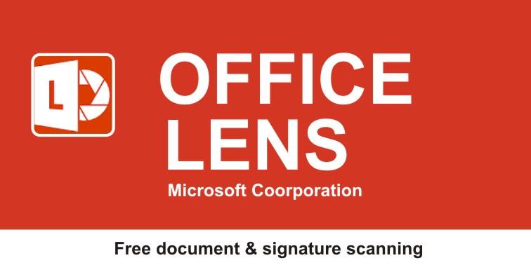 Aplikasi Scan Tanda Tangan Office Lens