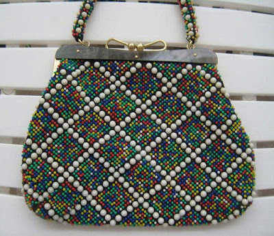 Colorful beads bags