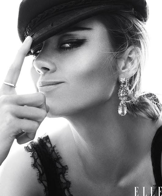 Brie Larson in 'Elle.'  Caption: Terry Tsiolis for ELLE