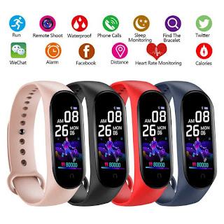 Smartband M5 Smartwatch Sport Heart Rate Waterproof Like Mi Band 5