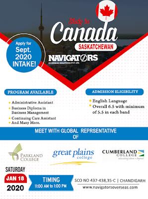 Canada Study Visa Consultants in Chandigarh