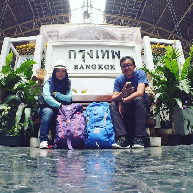 Trip Ke BANGKOK dengan Keretapi - DIY 4H3M