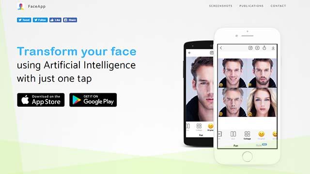 Face App aplikasi foto editor yang bikin wajah jadi tua