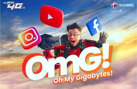 Paket Internet OMG Telkomsel Murah