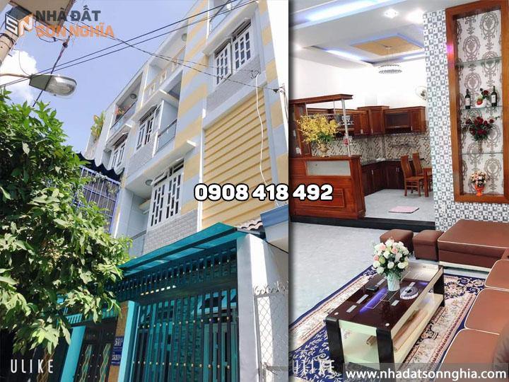 Bán biệt thự mini đường Phan Huy Ích p12 quận Gò Vấp giá 5.3 tỷ