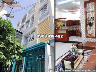 Bán biệt thự mini đường Phan Huy Ích p12 quận Gò Vấp - 6x10.12m giá 5.3 tỷ (MS070)