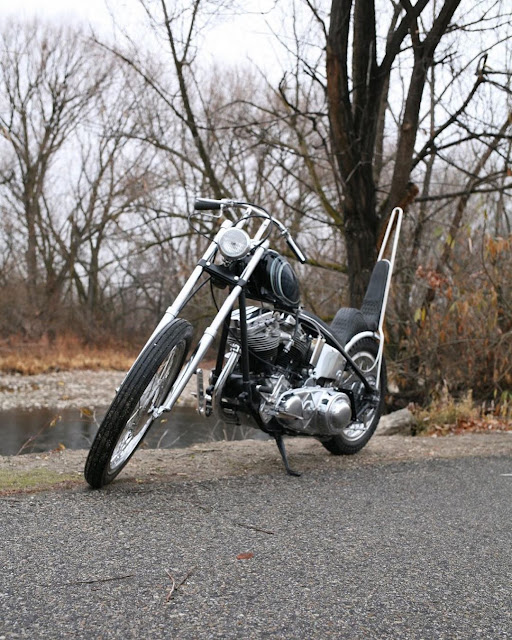 Harley Davidson Panhead 1964 By Wrecked Metals Hell Kustom