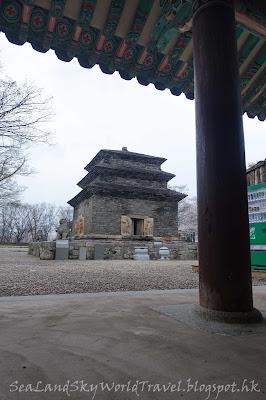 南韓慶州芬皇寺