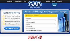 GabDotAg, Hasilkan Dollar Hanya Dengan Klik Iklan! Minimum Payout Rendah!