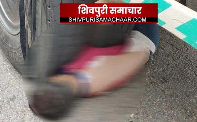 ट्रक के नीचे घूसकर पंप चालू कर रहा था क्लीनर ,पीछे से दूसरे ट्रक ने उडाया, मौत | Badarwas News