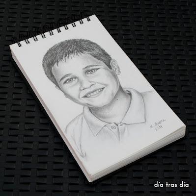 Retratos a lápiz