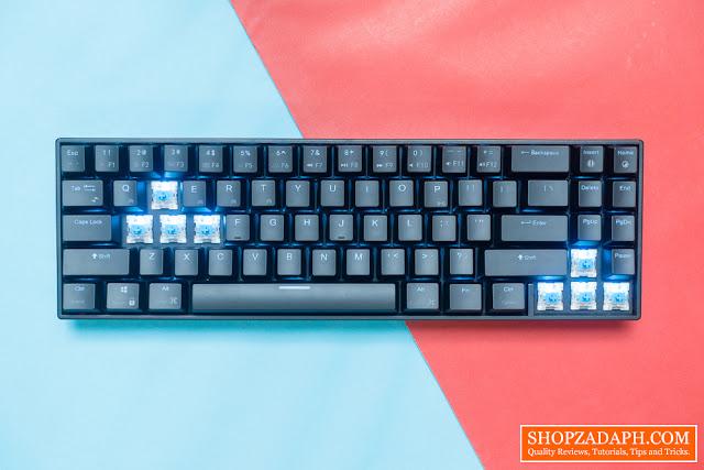 71 key mechanical keyboard