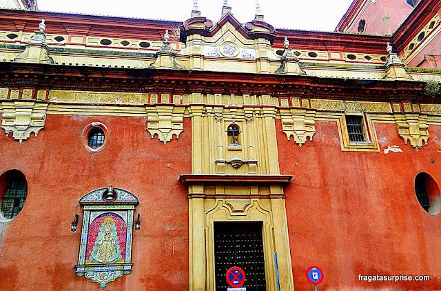 Igreja de Santa Ana, no Bairro de Triana, em Sevilha