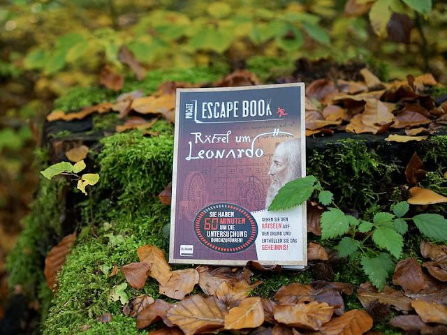 """Pocket Escape Book """"Rätsel um Leonardo"""""""