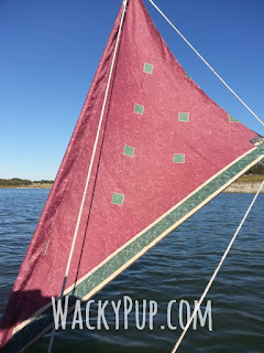 Great Camping & Kayaking Tutorials! Wacky Pup - Make your own kayak sail!