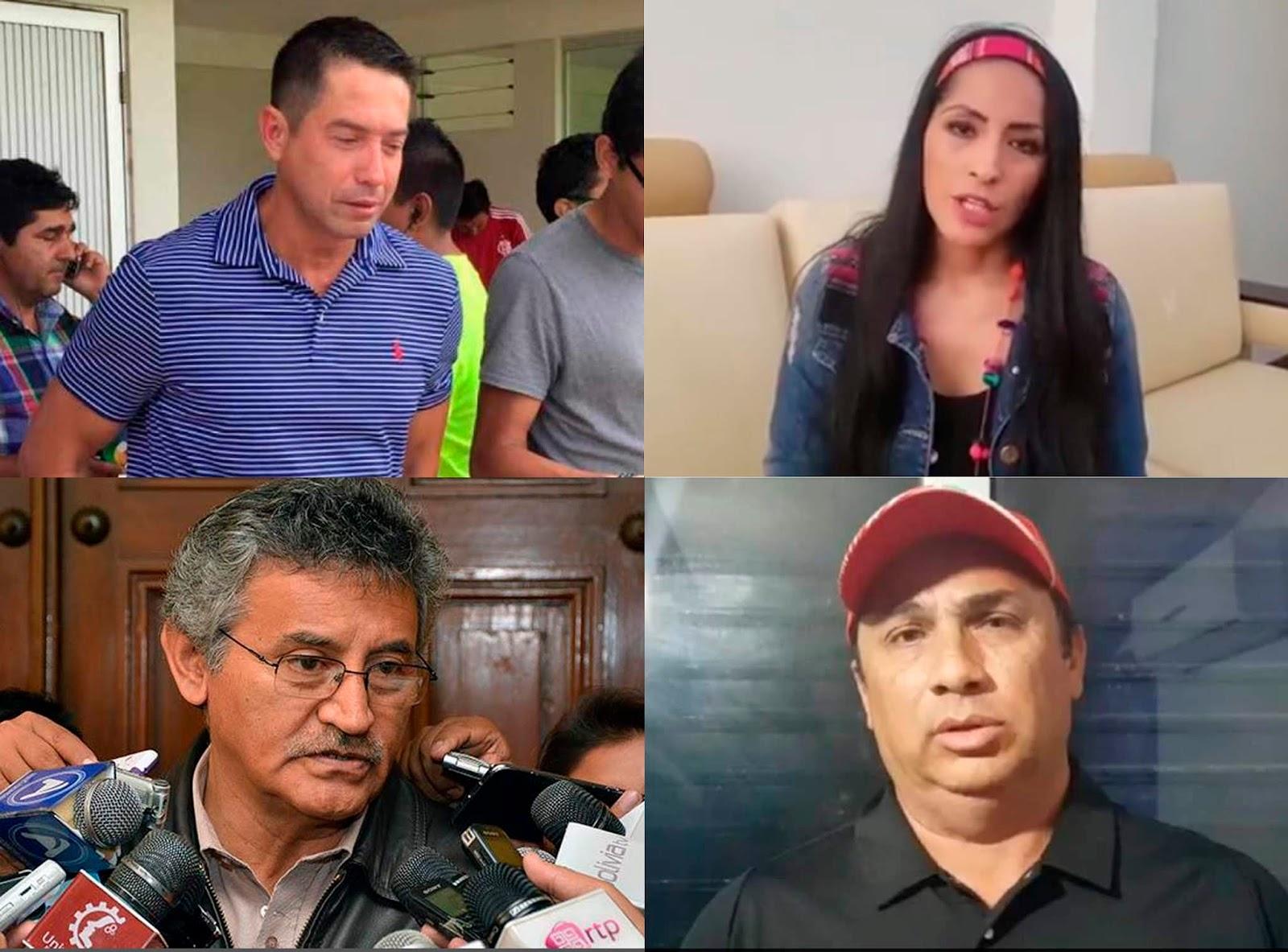 Cronenbold, Alanoca, Canelas y Ferrier son los algunos rostros que dejaron el poder este domingo / WEB