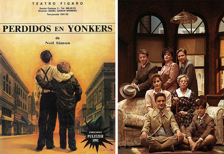 """""""Perdidos en Yonkers"""". Fotografía Jesus Alcantara."""
