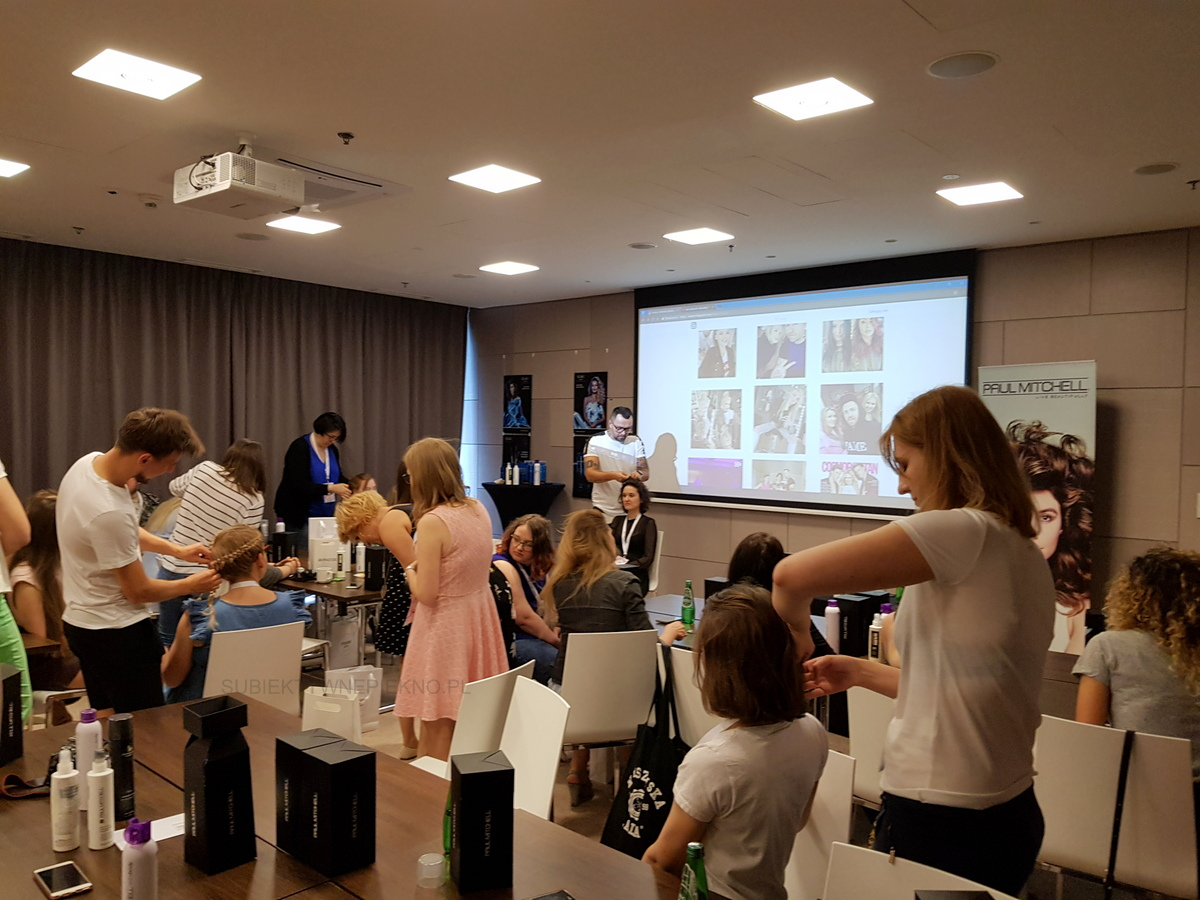 Warsztaty blogerskie Beauty by Bloggers - włosy Paul Mitchell