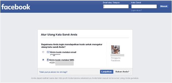 cara menyelesaikan pembuatan akun facebook