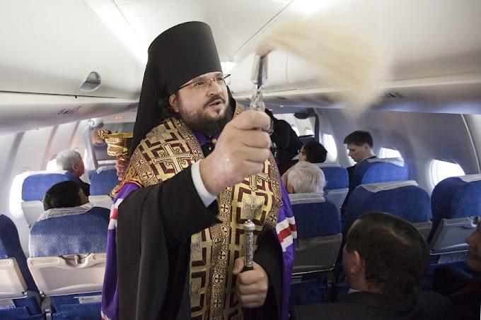 «Аэрофлот» намерен изменить подход к освящению используемой техники