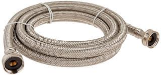 Stainless steel washing machine hoses