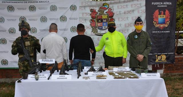 FRONTERA: Capturado presunto cabecilla de GAO residual encargado de explosivos y el cobro de extorsiones en Casanare-Colombia.