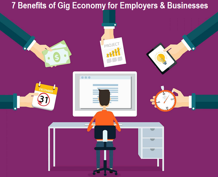 Benefits of Gig Economy for Employers