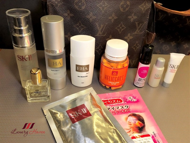 how to prep your skin for overnight flight