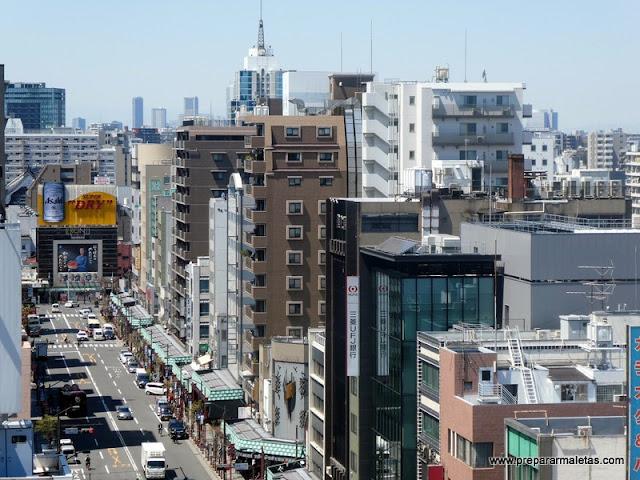 barrio de asakusa en Tokio